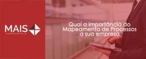 Qual a importância do mapeamento de processos para a sua empresa?