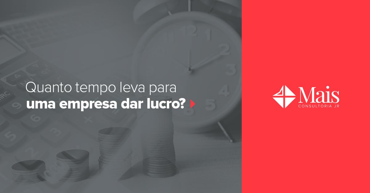 Quanto tempo leva para uma empresa dar lucro?