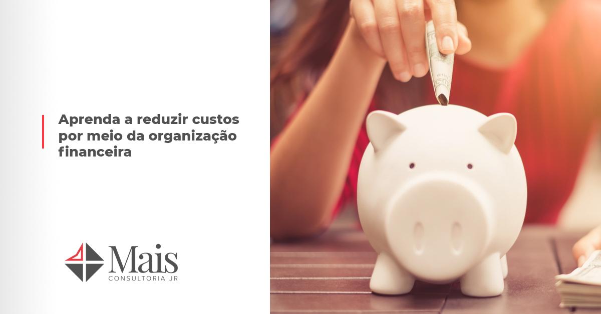 Aprenda a reduzir custos por meio da organização financeira