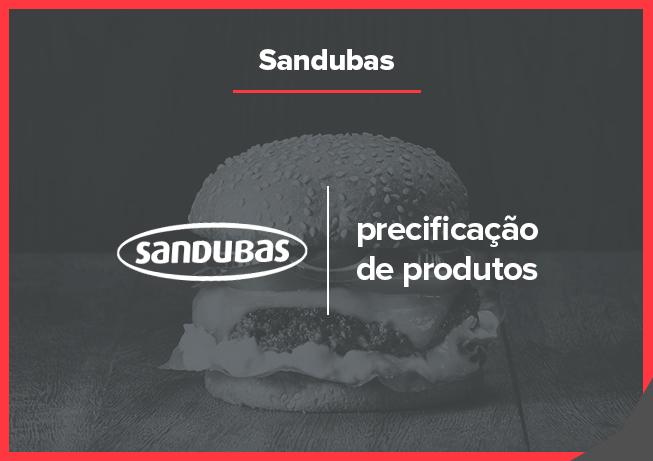 Case Sandubas: precificação de produto